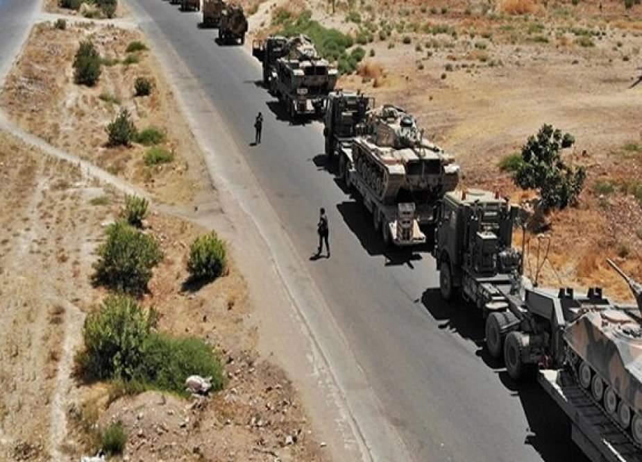 Konvoi Logistik AS Ditargetkan Di Nasiriyah Irak