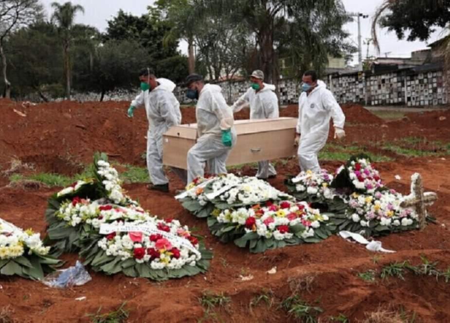 1548 حالة وفاة جديدة بكورونا في البرازيل