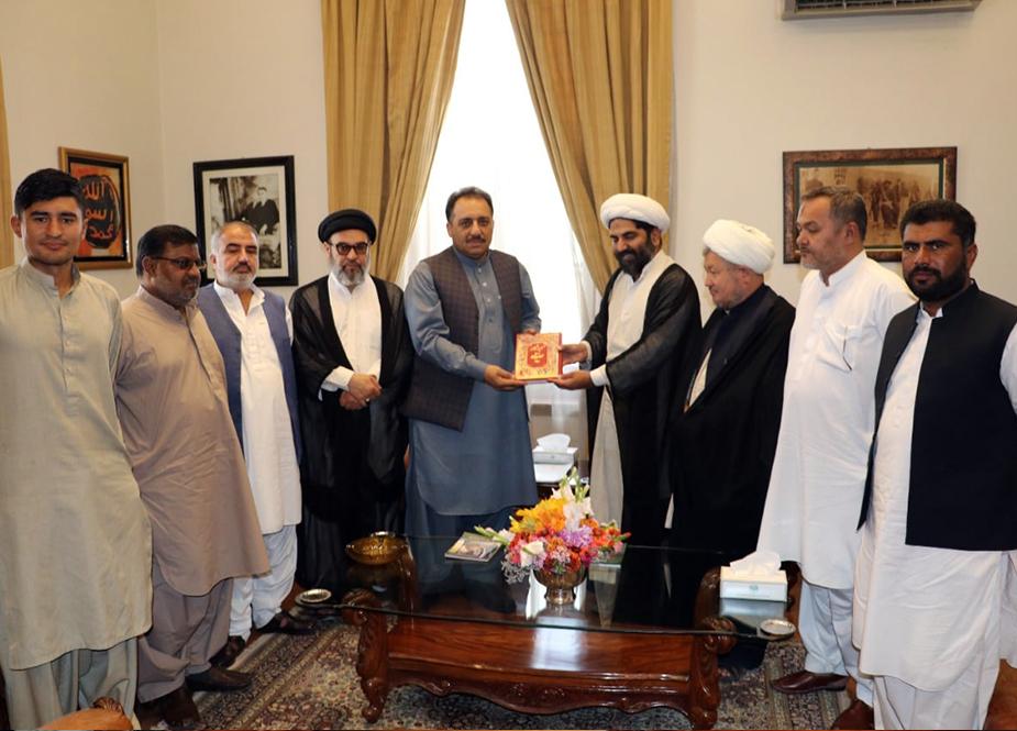 مجلس وحدت مسلمین بلوچستان کے وفد کی گورنر بلوچستان سید ظہور آغا سے ملاقات