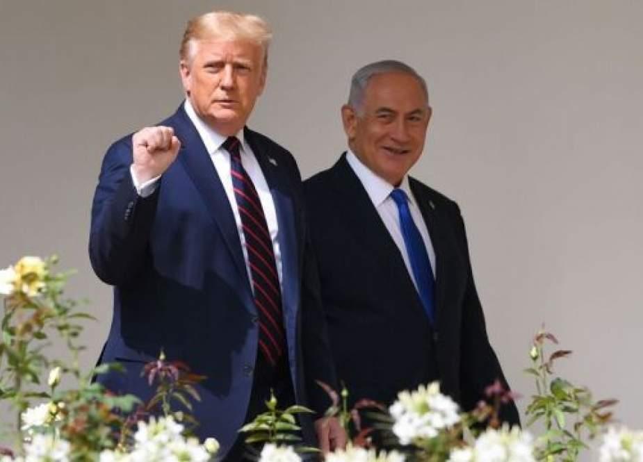 Trump dan Netanyahu (Al-Monitor).