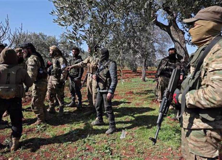 Teroris Berencana Untuk Melakukan Serangan Kimia Bendera Palsu Di Idlib Suriah