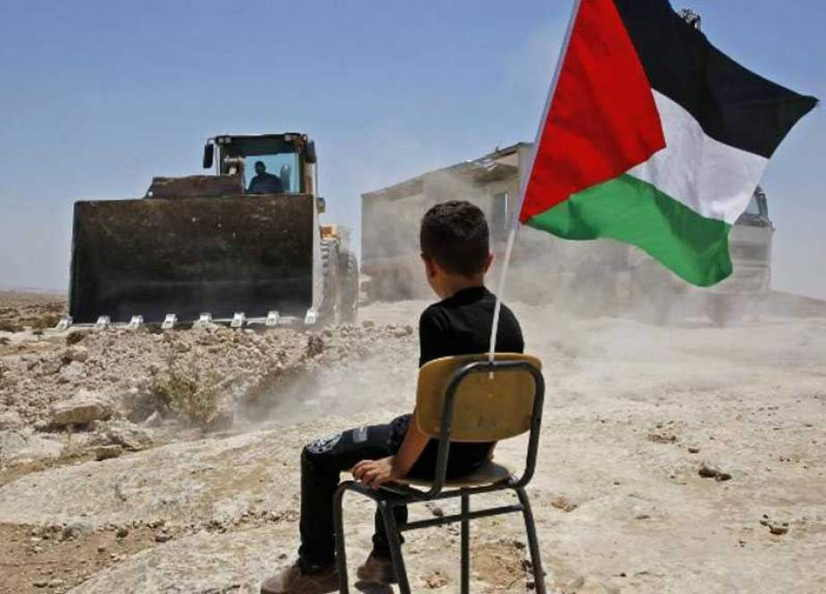 Dismantle dozens of Palestinian homes in West Bank.jpg