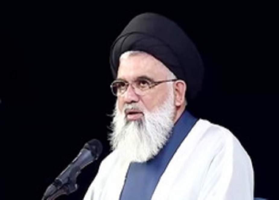 طالبانی فتنے کی آڑ میں پاکستان میں بدامنی کا نیا منصوبہ تیار کیا گیا ہے، علامہ جواد نقوی