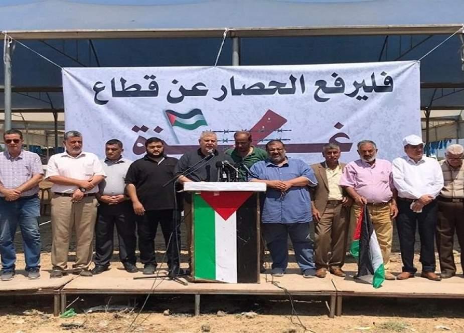 الفصائل الفلسطينية: ارفعوا الحصار قبل فوات الاوان