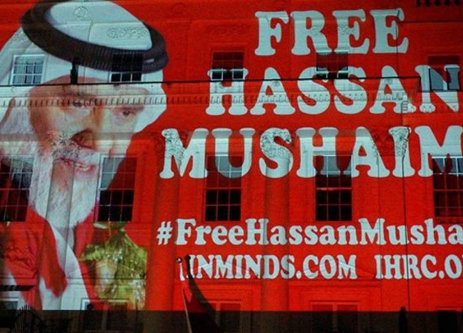 سجين الرأي البحريني حسن مشيمع يناضل من أجل حقوقه
