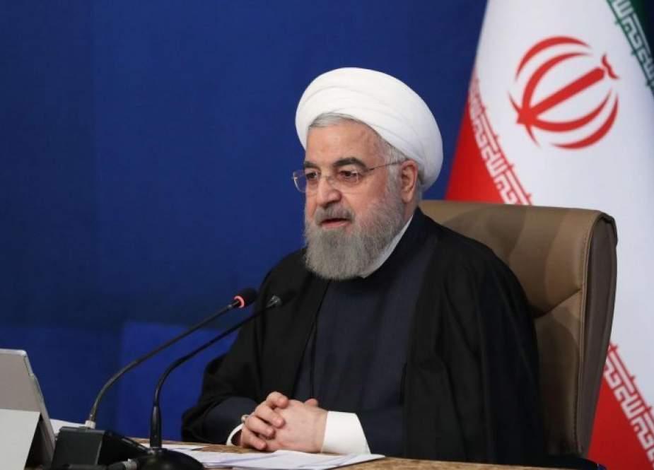 الرئيس روحاني يفتتح مشاريع زراعية كبيرة في عدة محافظات