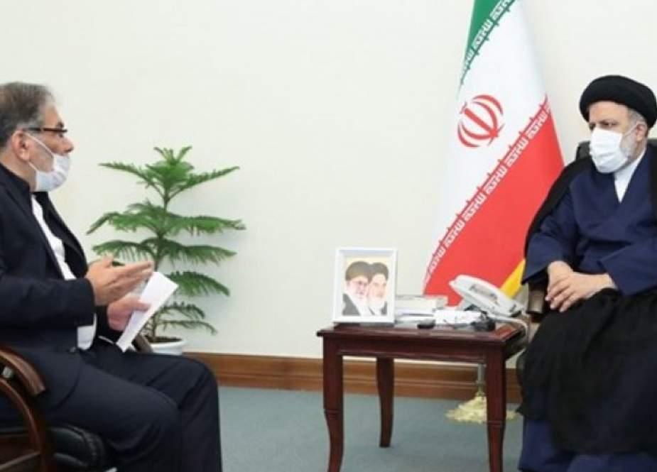 أمين المجلس الاعلى للامن القومي الايراني يلتقي رئيسي