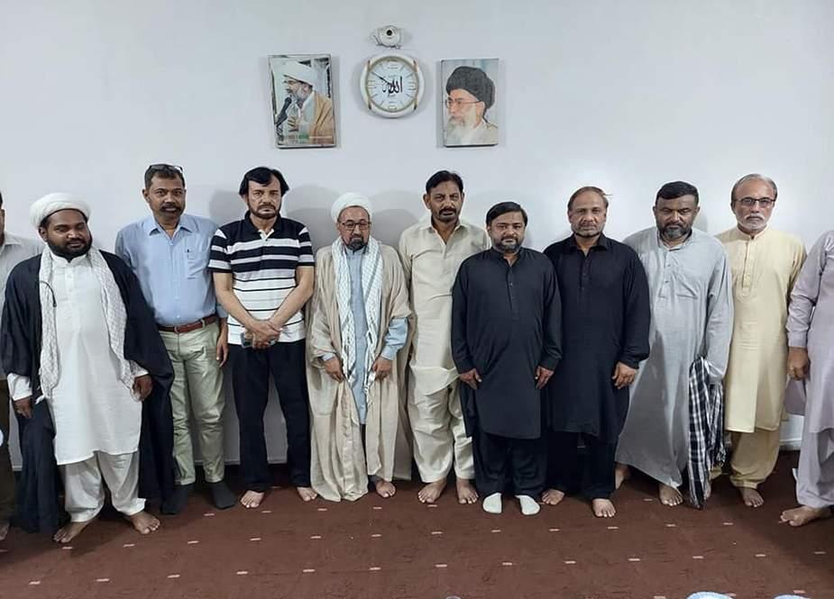 کراچی، مرکزی تنظیم عزا کے وفد کی ایم ڈبلیو ایم رہنماؤں سے ملاقات