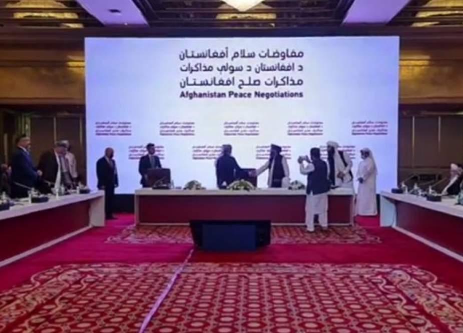 پایان نشست دوحه؛ توافق کابل و طالبان بر تسریع مذاکرات