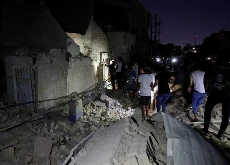 Serangan Bom Menewaskan Sedikitnya 20 Orang Di Kota Sadr Iraq