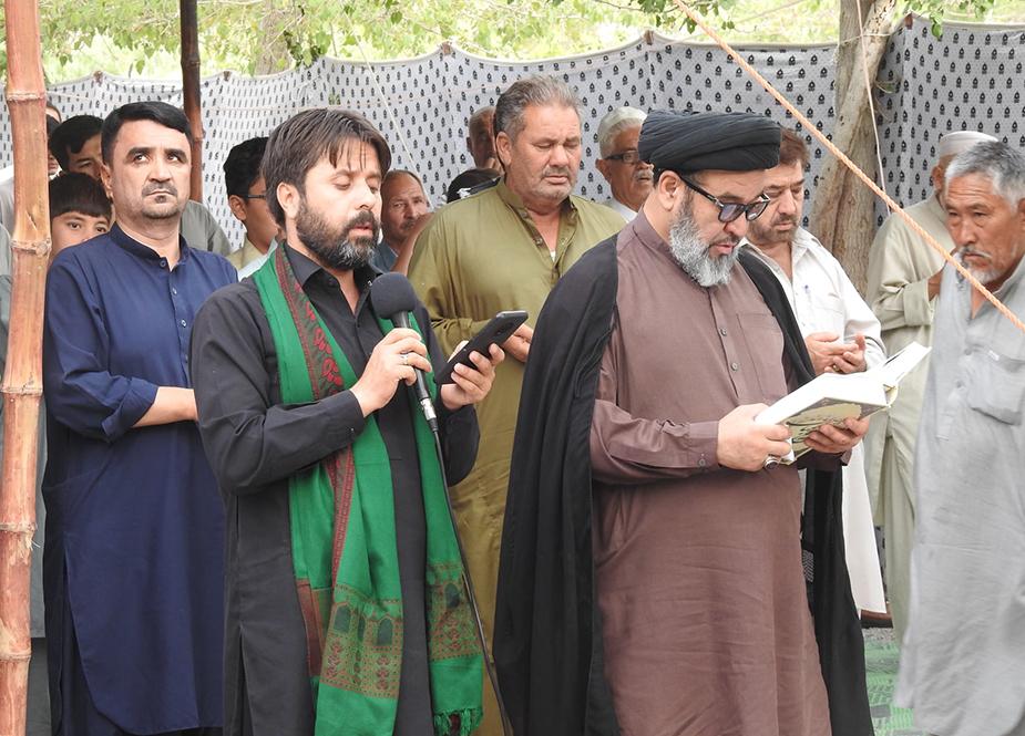 کوئٹہ، ہزارہ قبرستان (بہشت زینب س) میں دعائے عرفہ کا انعقاد