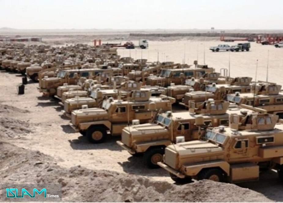 A US Military Logistics Convoy Arrives in Syria