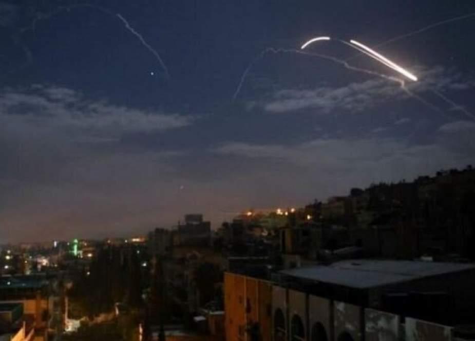 پدافند هوایی سوریه هفت موشک هدایت شونده اسرائیلی را منهدم کرد