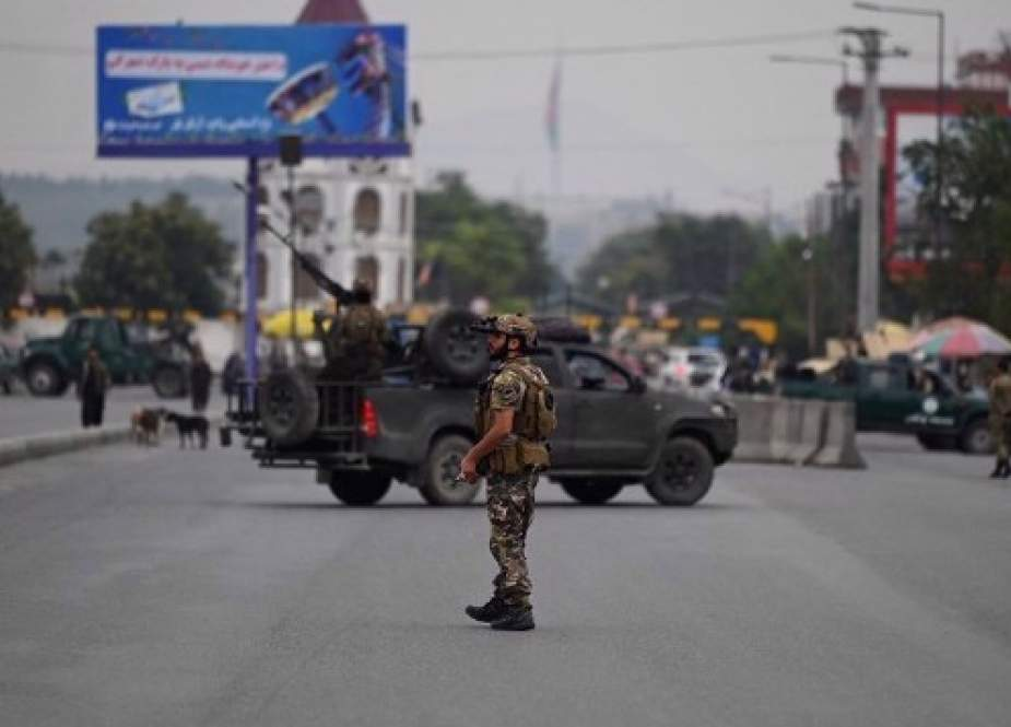 Pasukan keamanan di Kabul (PressTV).