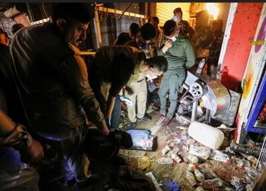 Bom Baghdad (TasnimNews).