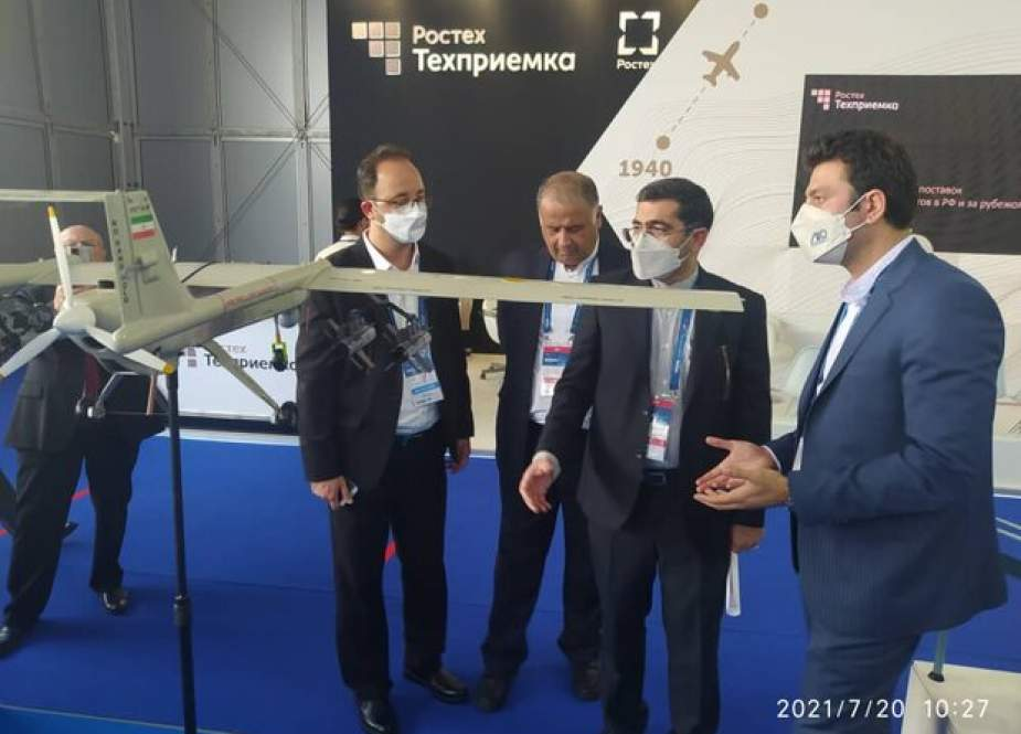 Produk Iran Dipamerkan Di MAKS 2021 Rusia