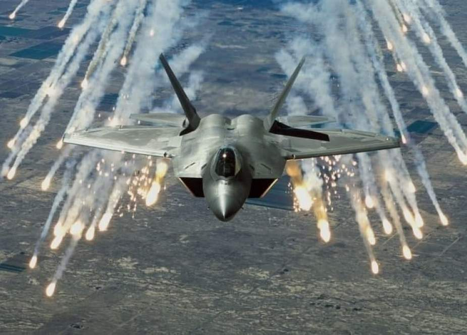حمله جنگندههای آمریکایی به شمال شرق سوریه