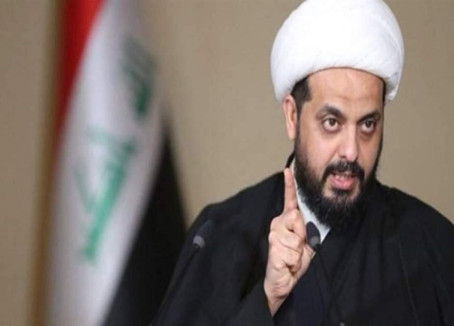 الخزعلی: عملیات تا خروج کامل آمریکا ادامه خواهد داشت/ احتمال دخالت اسرائیل در آتش سوزیهای عراق