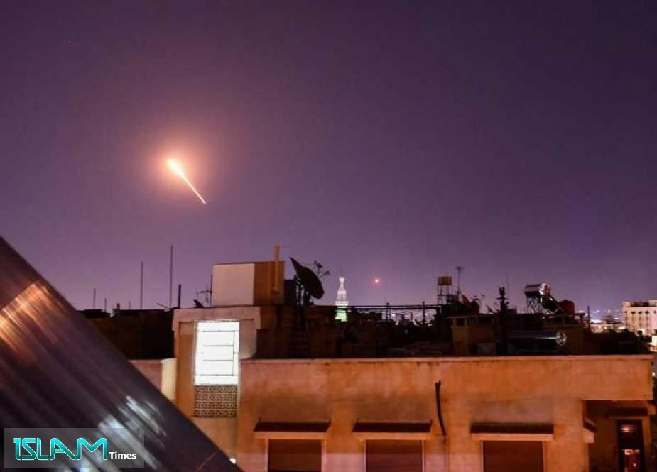 """Israel"" Targets ""Military Positions"" near Homs, Fires Flash Bombs near Lebanese Border"