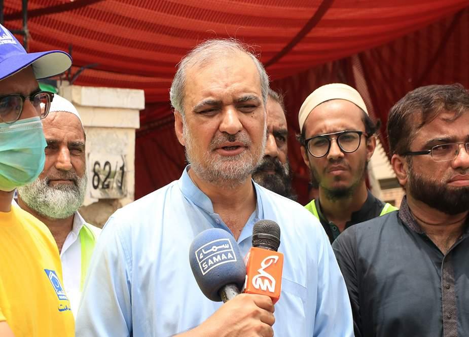 حافظ نعیم الرحمان کا قربانی کی کھالوں کی قیمتیں طے کرنے کا مطالبہ