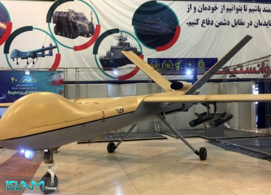 Defense Official Says Iran Self-Sufficient in Manufacturing Drones, Hails Russia as Strategic Partner