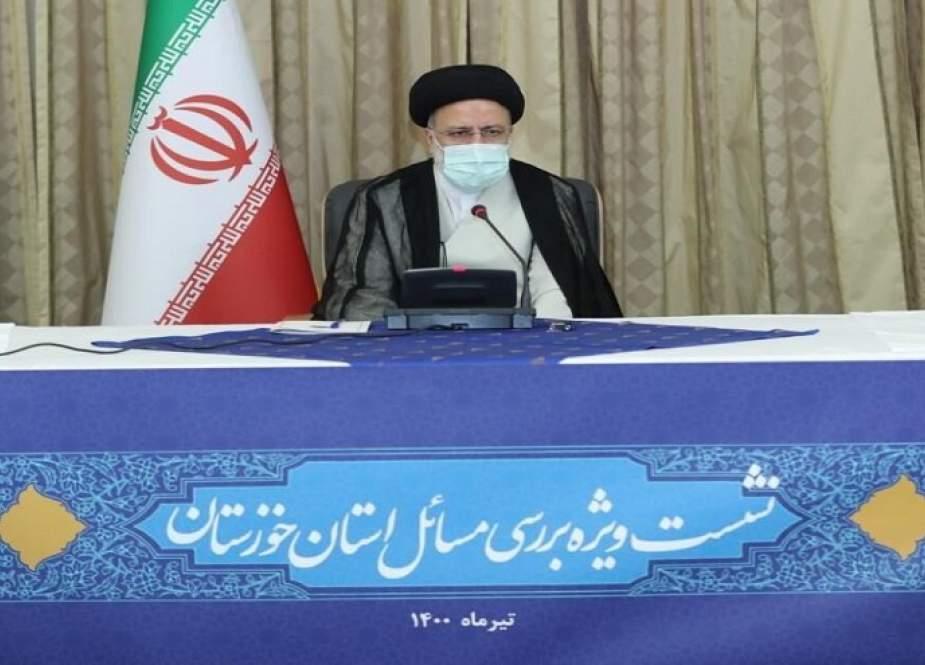 الرئيس المنتخب يؤكد ضرورة اتخاذ اجراءات فورية لحل قضايا خوزستان