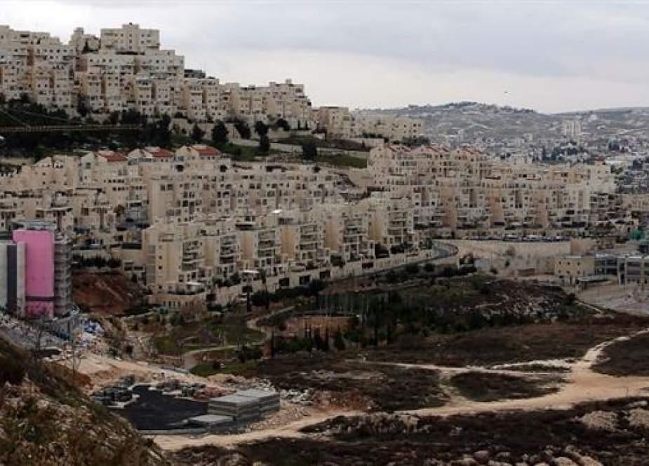 Israeli settlement of Har Homa, in southern East Jerusalem al-Quds, the occupied West Bank.jpg