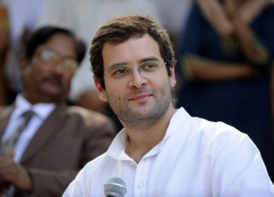 راہل گاندھی کا امت شاہ سے فوری استعفٰی کا مطالبہ