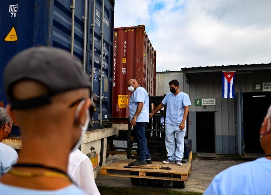 China Minta AS Segera Cabut Embargo Kuba