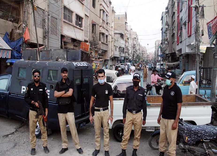 کراچی کے ضلع وسطیٰ میں مائیکرو اسمارٹ لاک ڈاؤن نافذ