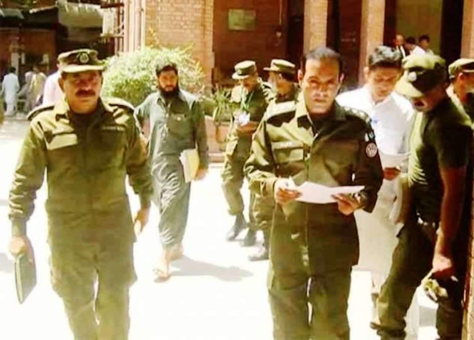 لاہور کے مختلف علاقوں میں پولیس کا سرچ آپریشن