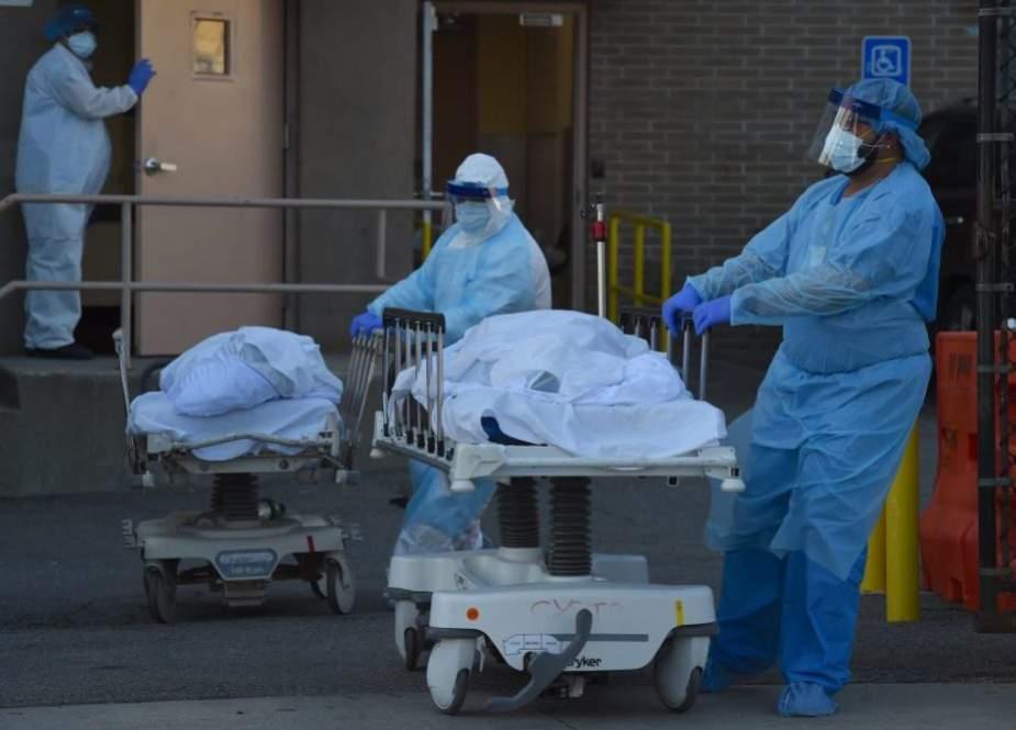 برطانیہ میں کورونا سے مزید 64 افراد ہلاک