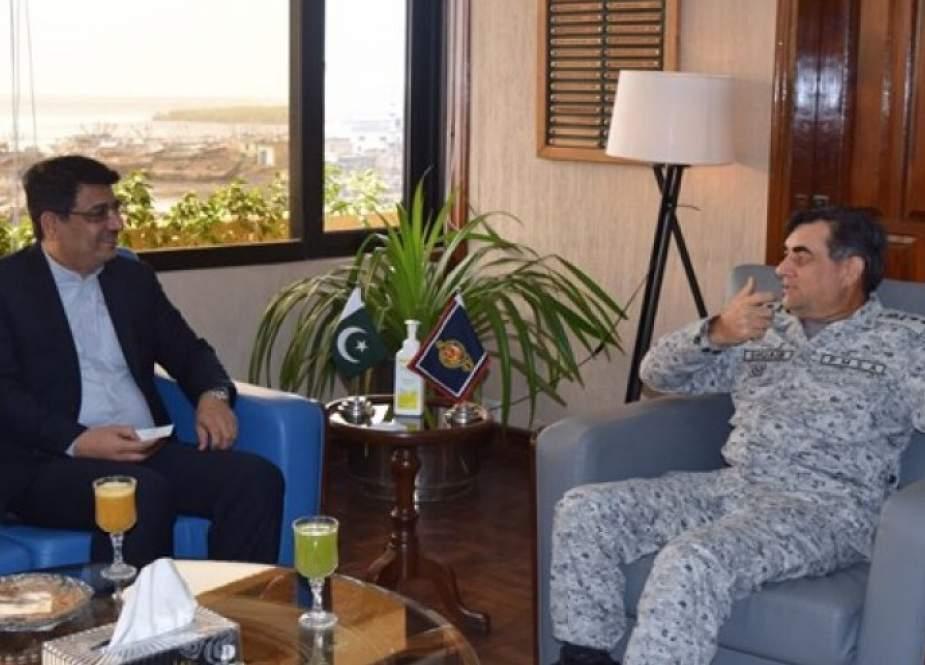 ايران وباكستان تؤكدان على توسيع التعاون الأمن البحري