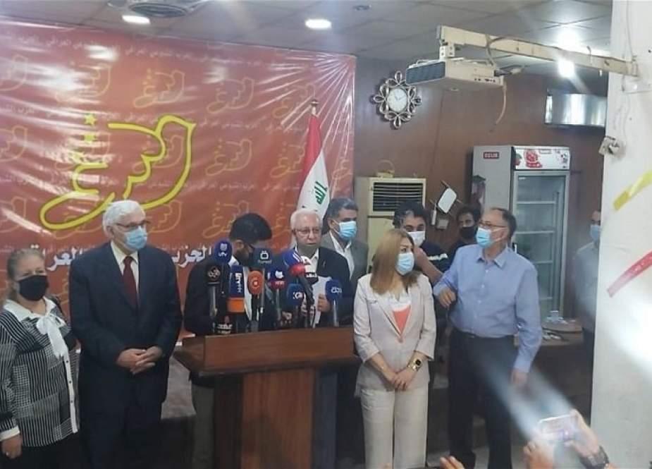 الشيوعي العراقي يعلن انسحابه من الانتخابات البرلمانية المقبلة