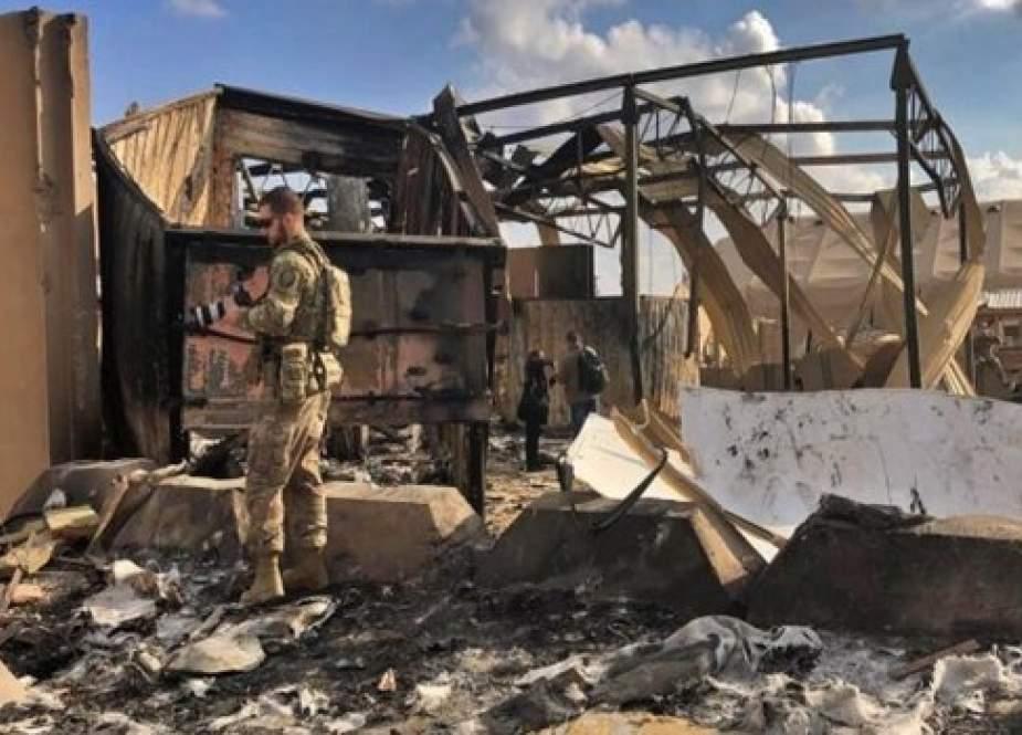 التحالف الدولي يعترف بتعرض احدى مقراته في كردستان العراق للقصف