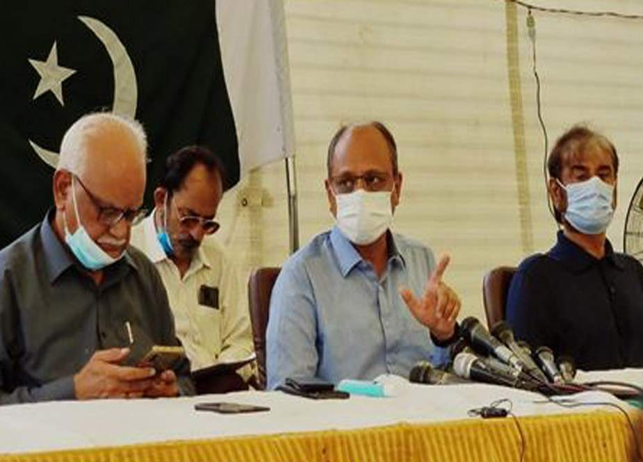 آزاد کشمیر کا الیکشن کمیشن مکمل طور پر ناکام ہوا ہے، سعید غنی