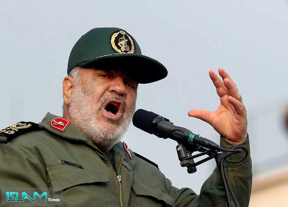 Gen. Salami: IRGC Stands with People of Khuzestan to Resolve Problems