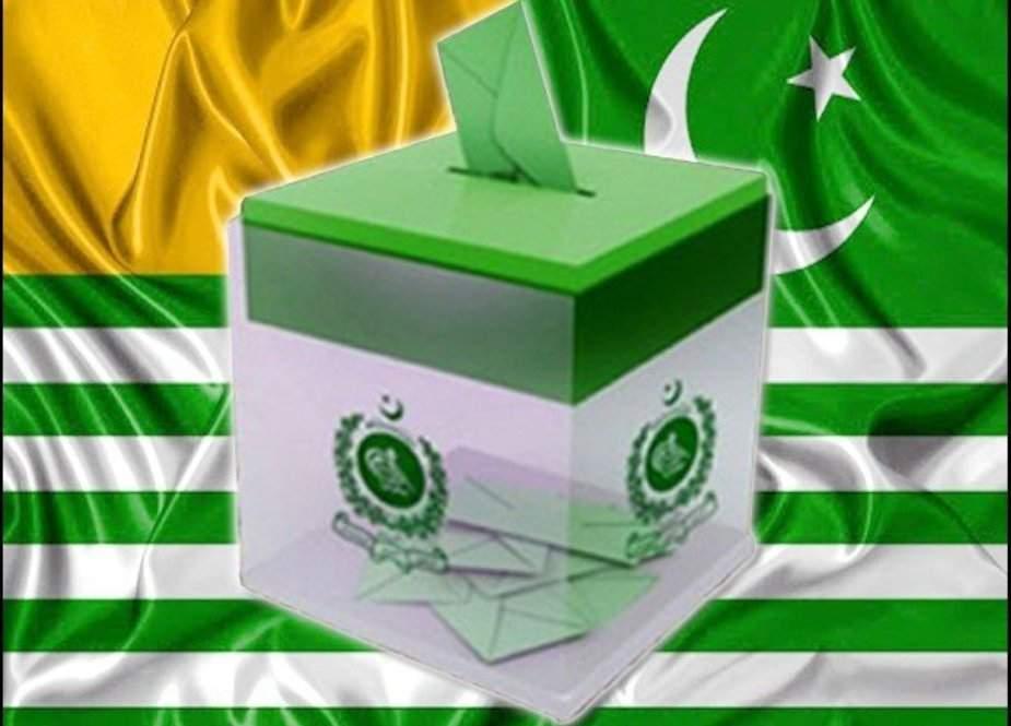 آزاد کشمیر میں 11 ویں عام انتخابات کیلئے میدان سج گیا