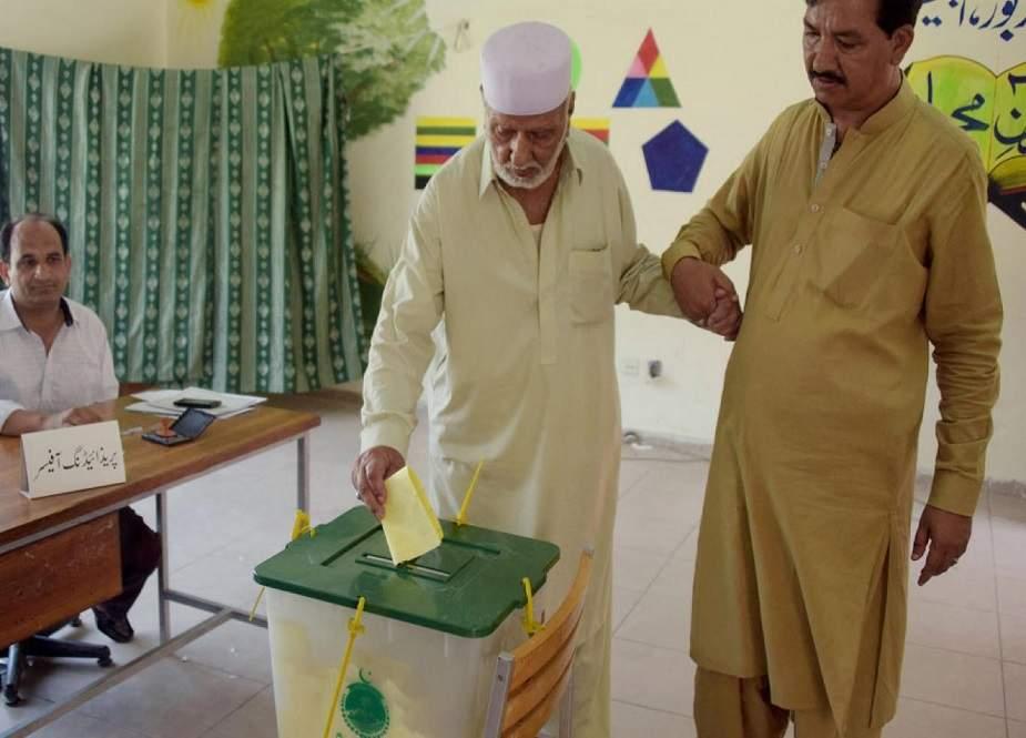 آزاد کشمیر الیکشن، لاہور کی دونوں سیٹیں تحریک انصاف لے گئی