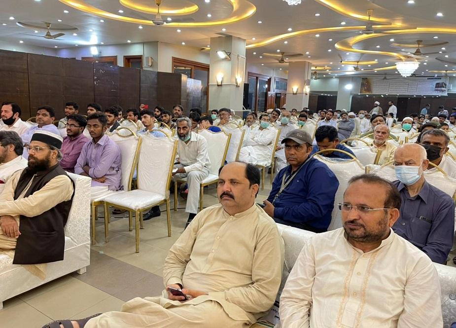 لاہور، قومی مرکز شادمان میں نہج البلاغہ کانفرنس کے مناظر