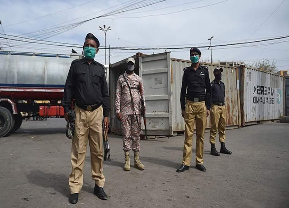 کراچی میں کورنگی کے مختلف علاقوں میں مائیکرو اسمارٹ لاک ڈاؤن نافذ