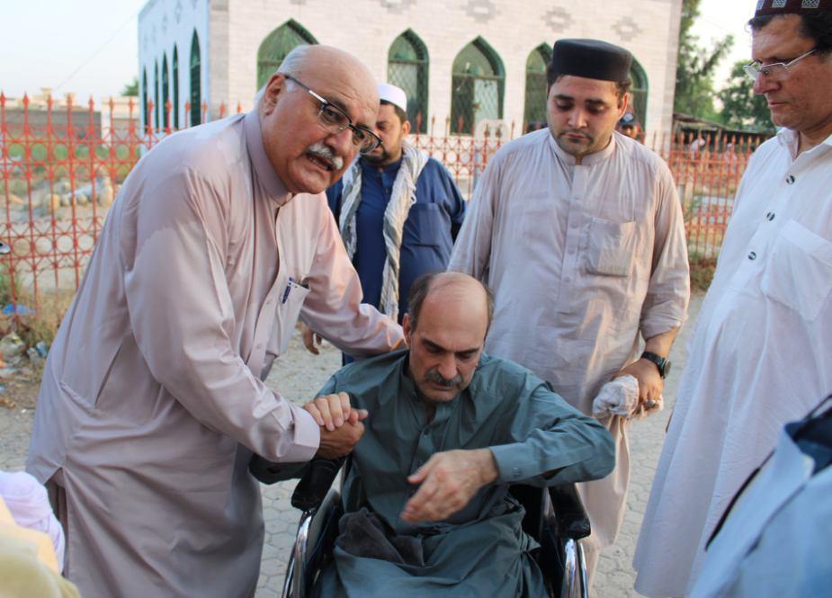 پبی، میاں افتخار حسین کے فرزند شہید راشد حسین کی گیارہویں برسی