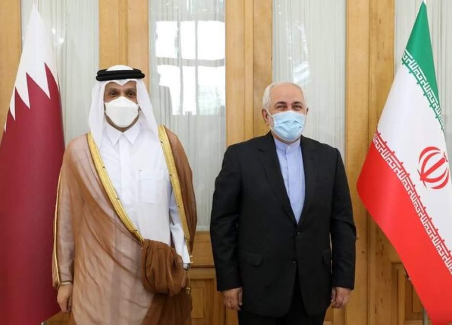 Zarif, Menlu Qatar Bertemu Di Teheran Untuk Membahas Hubungan, Wilayah