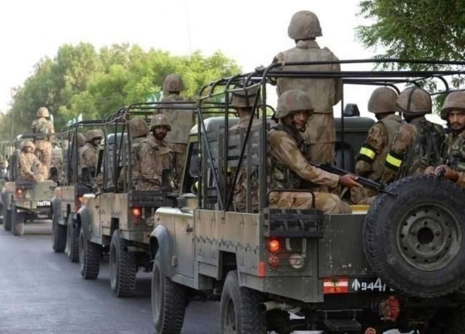 آزاد کشمیر میں فوج کی گاڑی کھائی میں گرنے سے چار جوان شہید