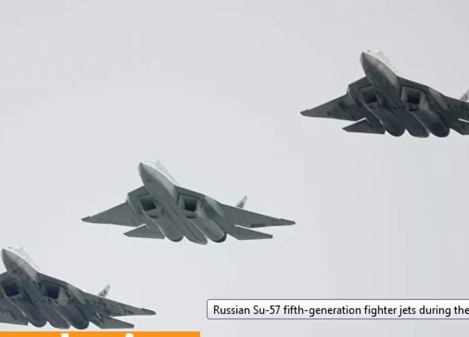 Su 57 Rusia (Sputnik).