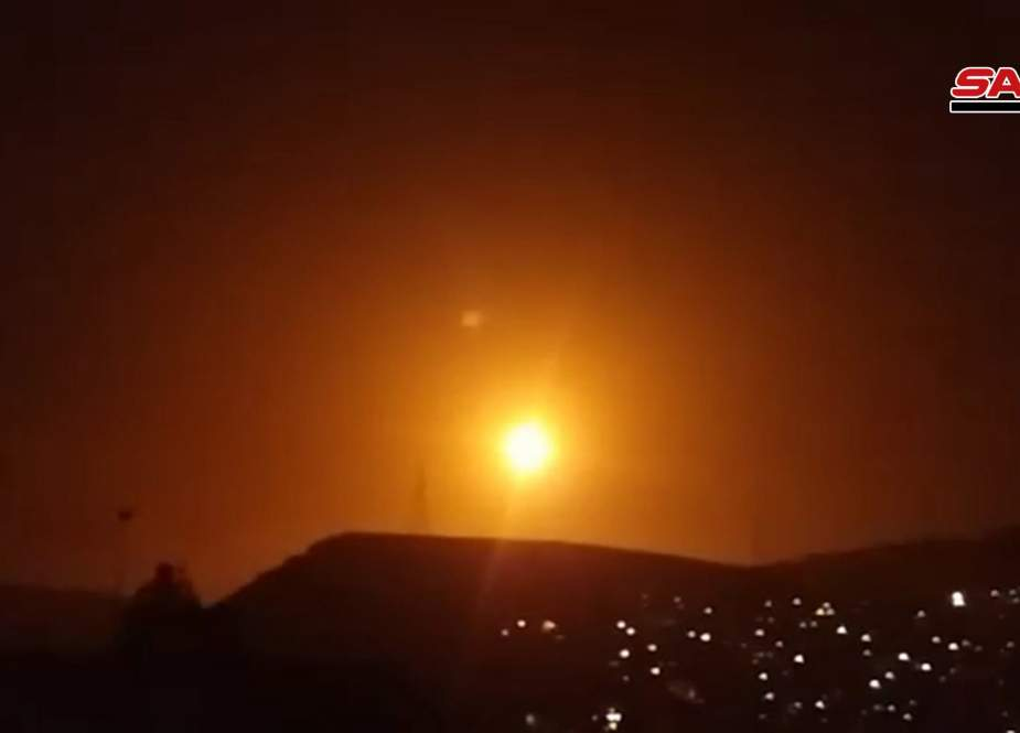 Israeli missile repelled in Damascus by Syrian air defenses.jpg