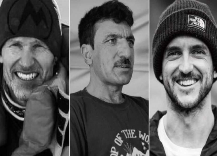 کے ٹو پر لاپتہ ہونے والے محمد علی سدپارہ سمیت تینوں کوہ پیمائوں کی لاشیں مل گئیں