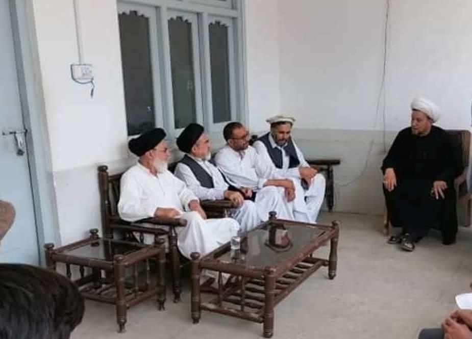 پاراچنار، علامہ اعجاز بہشتی کی وفد کے ہمراہ علامہ عابد الحسینی سے ملاقات