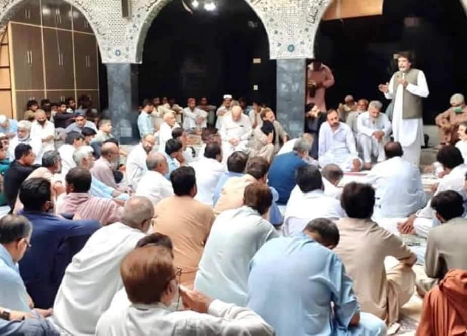 پشاور، محرم الحرام کے حوالے سے قومی محرم کمیٹی کا اجلاس