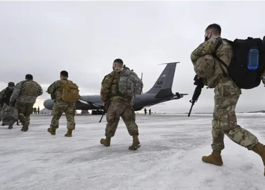 US troops (The Guardian).